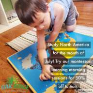 boy playing with Map